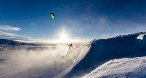 snowkiting kite skiing vancouver british columbia bc canada