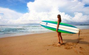 Surfing vancouver british columbia bc canada